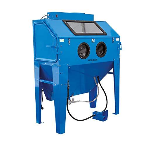 RP-TOOLS Sandstrahlkabine Sandstrahlgerät Sandstrahler Typ 420L mit Absaugung