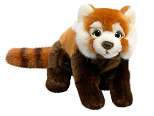 Carl Dick Roter Panda, Katzenbär aus Plüsch, ca. 24cm, ca. 37cm mit Schwanz 2211