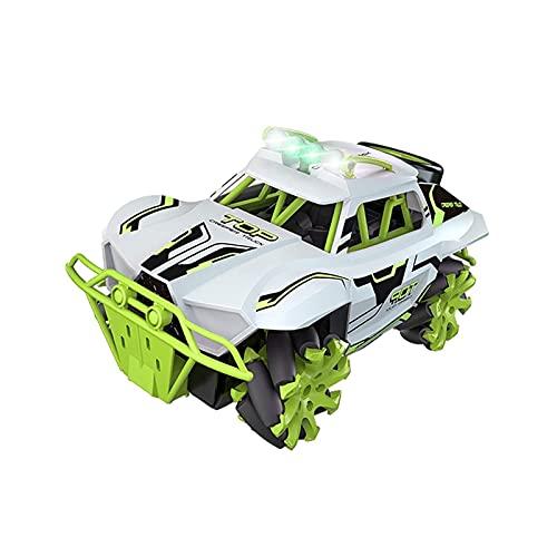 YLJYJ Coche de Juguete de Control Remoto a Gran Escala Tracción en Las Cuatro Ruedas Drift Stunt Car Charging Juguete para niños móvil Coche Todoterreno Paso (Coche RC)