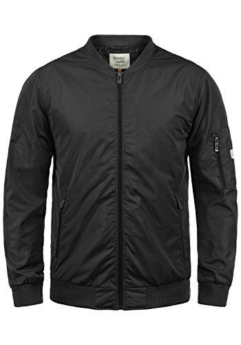 Blend Craz Herren Bomberjacke Übergangsjacke Jacke Mit Stehkragen, Größe:XL, Farbe:Black (70155)