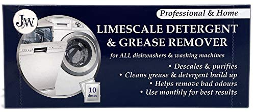 Limescale & Detergent Remover for Washing Machines & Dishwashers 10 Applications