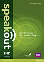 Speakout Pre-Intermediate 2nd Edition Flexi Students' Book 1 with MyEnglishLab Pack