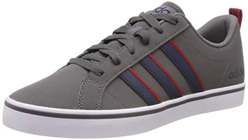 adidas VS Pace, Zapatos de Baloncesto Hombre, Gris (Grey Four F17/Collegiate Navy/Scarlet Grey Four F17/Collegiate Navy/Scarlet), 40 EU