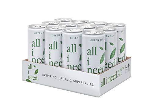 all i need Green Tea, 12er Pack (12 x 250 ml), 50166245000000
