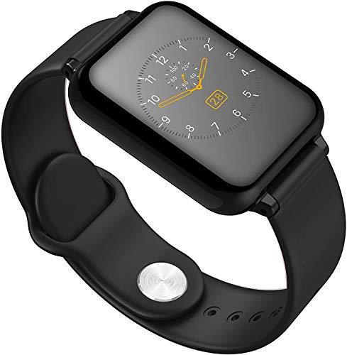 Gymqian Inteligentes Aptitud Del Reloj Rastreadores, Ip67 con Monitor de Ritmo Cardíaco, el Contador de Paso, Monitor Del Sueño, Cronómetro, Contador de Calorías, 1.3' Touch Screen