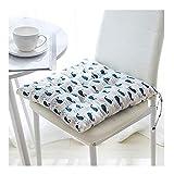 DZWLYX Stuhlkissen Rechteck 15.7x15.7 Zoll Bequemes 1.96 Zoll Kissen Für Ihre Esszimmer Stühle Und Bänke In Vielen Farben Erhältlich (Color : Style 2)