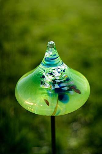 Gardecor Rosenkugel auf Stab – Handgemachte Garten Dekoration für Ihren Garten, hohe Qualität. Alle unsere Deko Garten Kugeln sind Winterfest und aus höchster Qualität