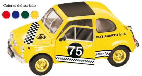 Fiat 500 Cinquecento Abarth Nr 81 Silber Tuning 1/18 Mondo Motors Modellauto Modell Auto