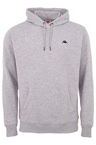 Kappa Hoodie VENNO I Unisex Kapuzen Sweatshirt I Pullover aus hochwertiger Baumwolle I Pulli für Freizeit & Sport I Kleidung für Frauen & Männer XL ,15-4101m High-rise