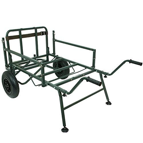 Shimano Tribal Trench Gear, kruiwagen, barrowcm, groen, 2 wielen, SHTGB01