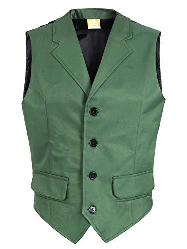 CoolChange Chaleco para Disfraz de Joker, Verde, Disfraz de cómic, Taille: L