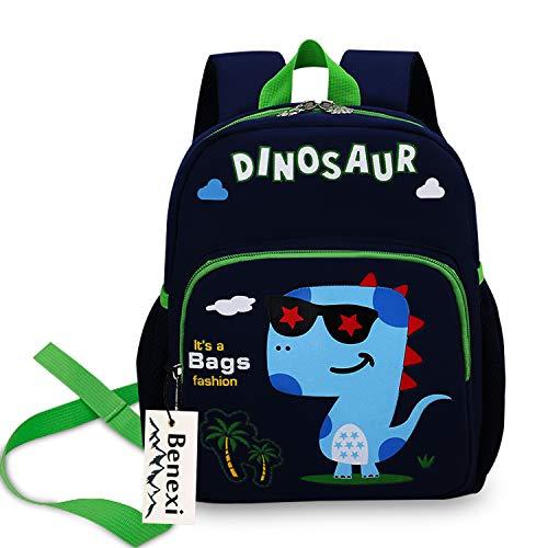 Benexi Mochila infantes Mochila Para niños , Mochilas pequeñas Mochilas escolares de dinosaurios de animales Bonita bolsa de bebé primaria Guardería Preescolar para niños de 2 a 5 años Niñas