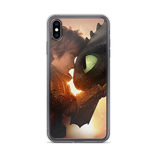 Compatibile con iPhone 7 Plus/8 Plus Case Come addestrare il tuo Drago Singhiozzo Amicizia Sdentata Pure Clear Phone Case Cover