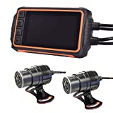 THANKO Shock detection & complete waterproofing! Front and rear drive recorder for motorcycle SGPMCWDR