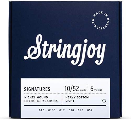 Top 10 Best 10-52 guitar strings