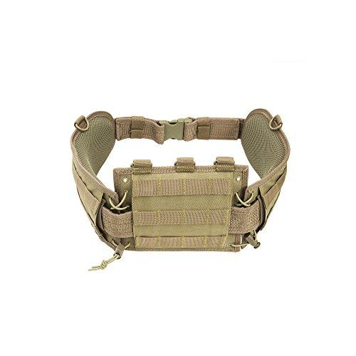 Nc Star CVBAB2939T Battle Belt with Pistol Belt, Tan
