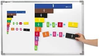 EAI Education Jumbo Magnetic QuietShape Foam Fraction Tiles - Set of 67