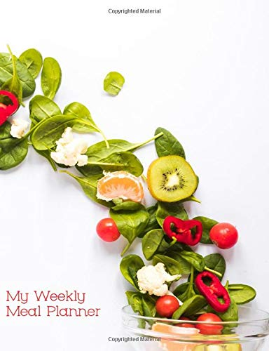 My Weekly Meal Planner Recipe Journal: Perfect for People...