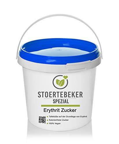 1kg Erythrit Erythritol kalorienfreier Zucker 100{1730c54db1b78d9e5b1425f80519b685f461d5b06c8d5d69905da6e8ab6c9d87} Vegan Diät Zucker Eimer