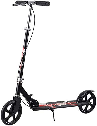 Scooters Adult Folding Kick with Big Hand Selling Max 70% OFF Brake Wheels Com