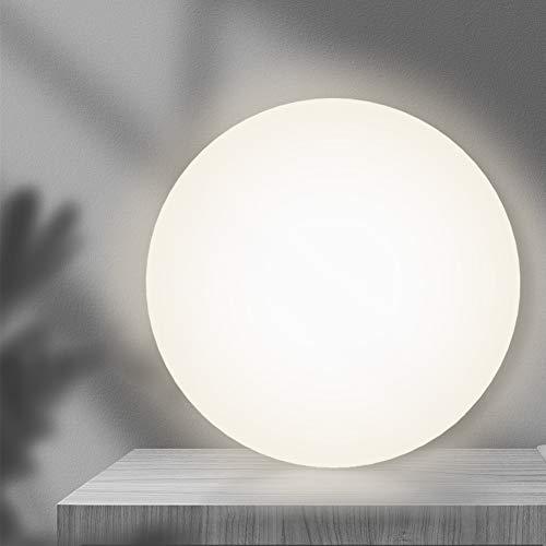 BULING 15W LED DeckenleuchteRund 1500 Lm 4000K für Schlafzimmer Küche, Deckenlampe Badezimmer IP44 Neutralweiß, Küchenlampe Kinderzimmerlampe für Garage Balkon Decke, Ø29cm [Energieklasse A+]