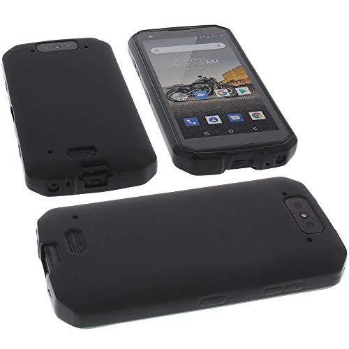 foto-kontor Funda para Blackview BV9500 Protectora de Goma TPU para móvil Negra
