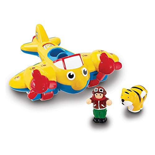 WOW Johnny Jungle Plane (3 Piece Play Set)