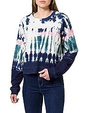 Desigual Bluza damska Crewneck Tie Dye
