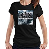 DIANXIAOERR Mujer Gregorian The Dark Side of The Chant Easy Short Sleeved Camiseta/T-Shirt Large