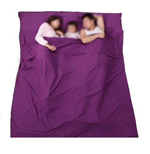liner Sac de couchage Enveloppe Voyage adulte double Ultra léger Hôtel Voyage Portable Bed coverlet