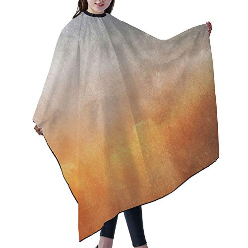 "SUPNON Waterproof Professional Salon Cape Hair Salon Cutting Cape Barber Hairdressing Cape - 55"" x 66"" - Grunge Background, IS027096"