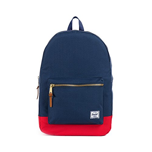 Herschel Settlement Backpack Rucksack, 21 Liter, Navy/Rot