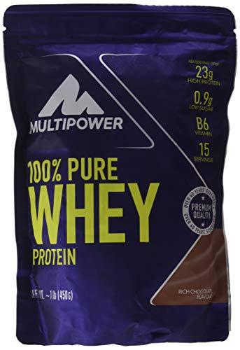 Multipower 100% Whey Protein Rich Chocolate - 450 gr