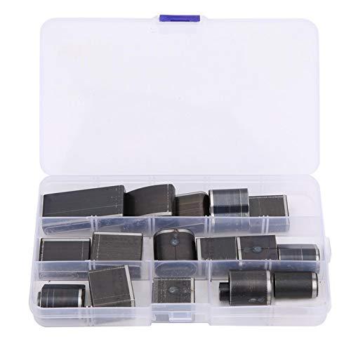 Juego de perforadoras de cuero, perforadora de cinturón fácil de operar, uso general para uso profesional de teléfonos celulares con cámara
