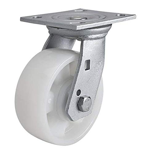 Casters, Nylon casters, Office Chair Rollers, with Flat Cabinet Wheels Freewheels Wheels and Chairs Wheels White