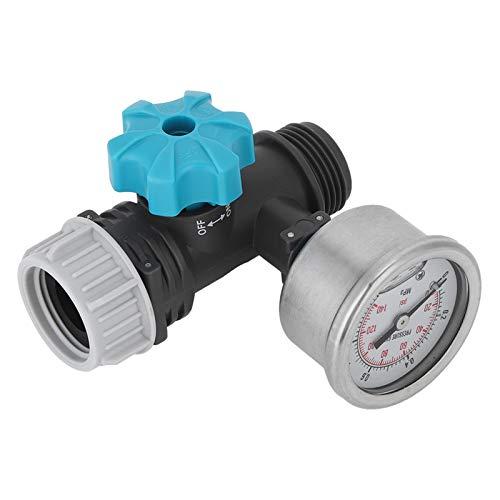 Omabeta Druckminderventil Druckminderer Wasserdruckventil Druckregler 8,5x5cm Wasserdruckregler für Garten
