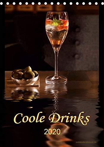 Coole Drinks (Tischkalender 2020 DIN A5 hoch): Zwölf coole Drinks für jede Gelegenheit. (Planer, 14 Seiten ) (CALVENDO Lifestyle)