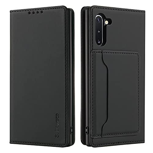 S. Dawezo FundaSamsung Galaxy Note 10 Tapa, PU Cuero Libro Funda Móvil...