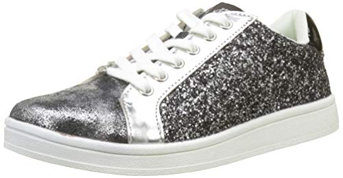 Le Temps des Cerises Sacha, Sneaker Donna, Argento (Silver Silver), 37 EU