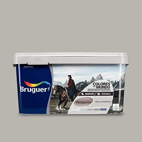 Bruguer 5160742 - Colores del mundo Patagonia PERLA intermedio 4 L