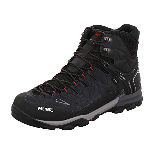 Meindl Unisex-Adult Shoes, Schwarz Rot, 42.5