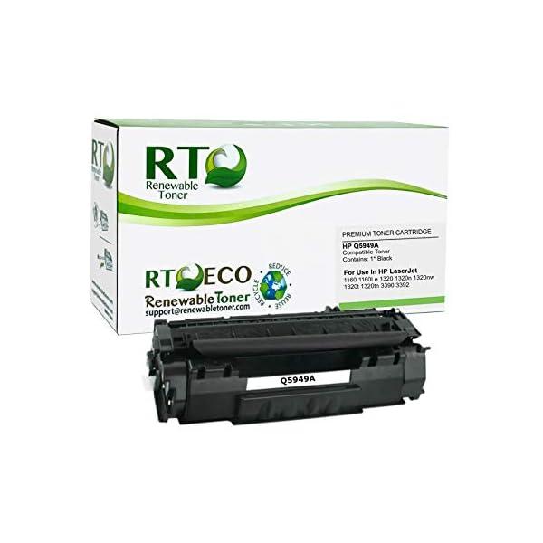 Renewable Toner Compatible Toner Cartridge Replacement for HP 49A Q5949A LaserJet...