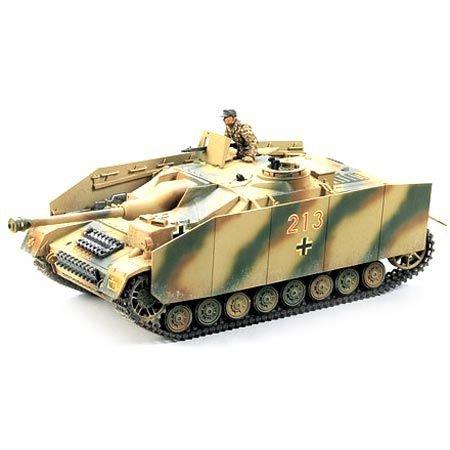 TAMIYA 35087 1:35 Dt. SdKfz.163 Sturmgeschütz IV (1), Modellbausatz,Plastikbausatz, Bausatz zum Zusammenbauen, detaillierte Nachbildung