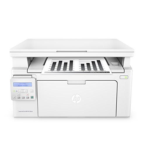 HP LaserJet Pro M130nw Laserdrucker Multifunktionsgerät (Schwarzweiß Drucker, Scanner, Kopierer, WLAN, LAN, Airprint) weiß