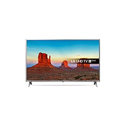 LG 43UK6500PLA UHD 4K HDR Smart LED TV with Freeview Play (2018 Model) - Steel Silver/Black