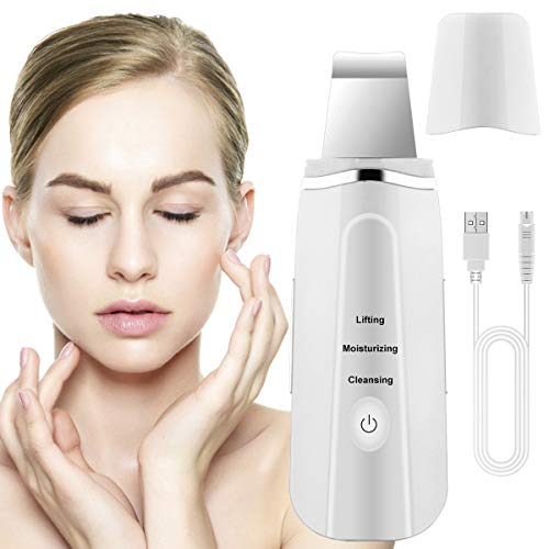 Lalafancy Dispositivo Ultrasónico de Limpieza de la Piel Facial, Skin