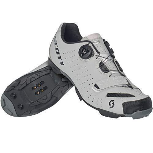 Scott Mens MTB Comp Boa Reflective Cycling Shoes - 270599-6224 (Reflective Black - 41)