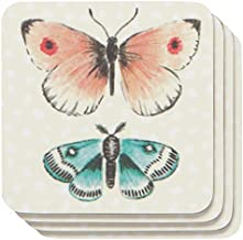 DANICA NOW DESIGNS Fly Away Coasters 4 Count, 4 CT
