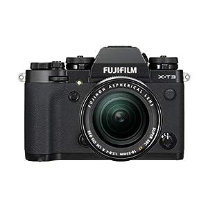 """FUJIFILM ミラーレス一眼カメラ X-T3レンズキット ブラック X-T3LK-B"""""""