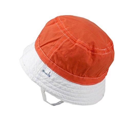 Xiaoyu 2 in 1 cappelli unisex di sole del bambino su due lati, ragazze del bambino e del bambino